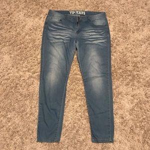 """VIP Womens Jeans Sz 15/15 Blue """"Butt Lifter"""""""